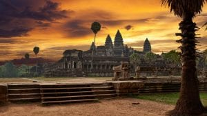 Angkor is included in Cambodia tours offered by Asia Vacation Group.