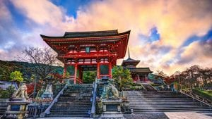 Kizomizu temple is included in Japan tours offered by Asia Vacation Group.