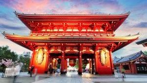 Asakusa Temple in Tokyo, Japan