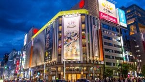 Ginza store is included in Japan tours offered by Asia Vacation Group.