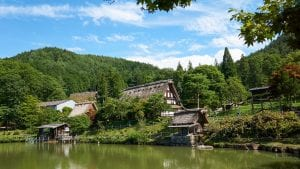 Hida Folk village in Tokyo, Japan, included in tours offered by Asia Vacation Group