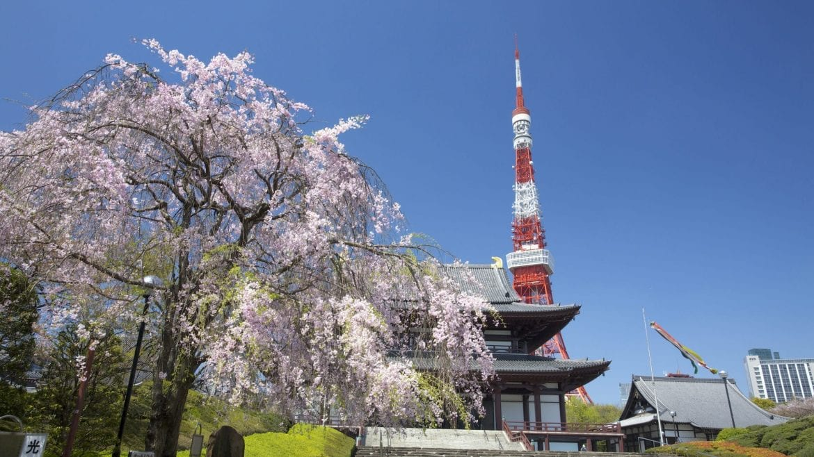 Tokyo Tower is included in Japan tours offered by Asia Vacation Group.