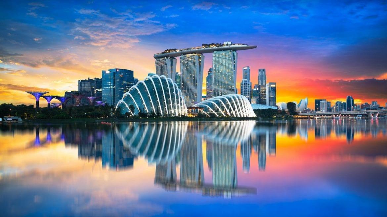 Marina Bay in Singapore