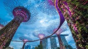 Sky Garden in Singapore