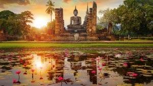 Wat Mahathat Temple in Ayutthaya, Thailand Thailand