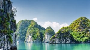 Halong bay, Vietnam, included in tours offered by Asia Vacation Group
