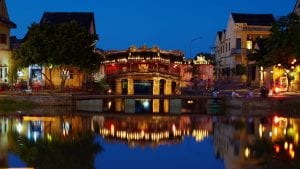 Hoian Covered Bridge, Vietnam, included in tours offered by Asia Vacation Group