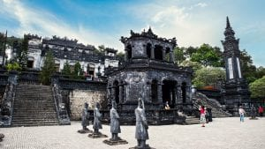 Hue Khai Dinh tomb, Vietnam, included in tours offered by Asia Vacation Group
