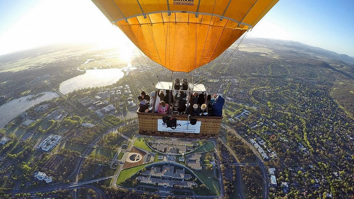 A hot air balloon flight for the city view from above is not just an experience, it is a dream comes true